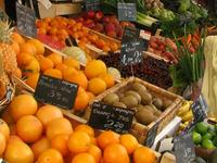 Fruit Markets In Cours Saleya