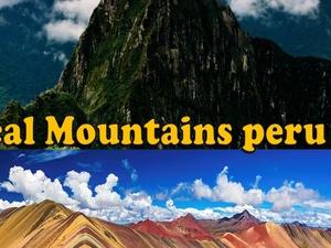Machupicchu - Rainbow Mountain Photos