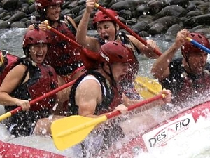 White Water Rafting in Costa Rica Fotos