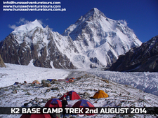 K2 Base Camp Concordia Baltoro Glacier Trek