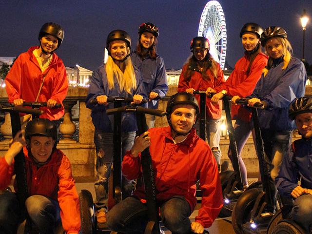 Paris Segway Night Tour Photos