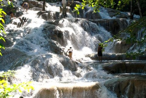 Dunn's River Falls & Fern Gully Adventure Tour from Ocho Rios Photos