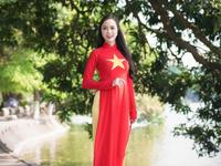 Ao Dai   Vietnam Flag