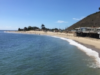 View From The Malibu Pier