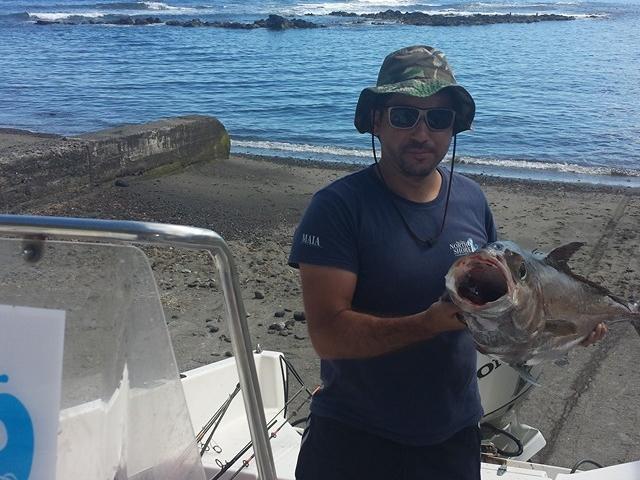 Coastal Fishing in Maia S. Miguel Azores Photos