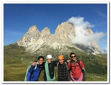 Guides In Dolomite Itlay