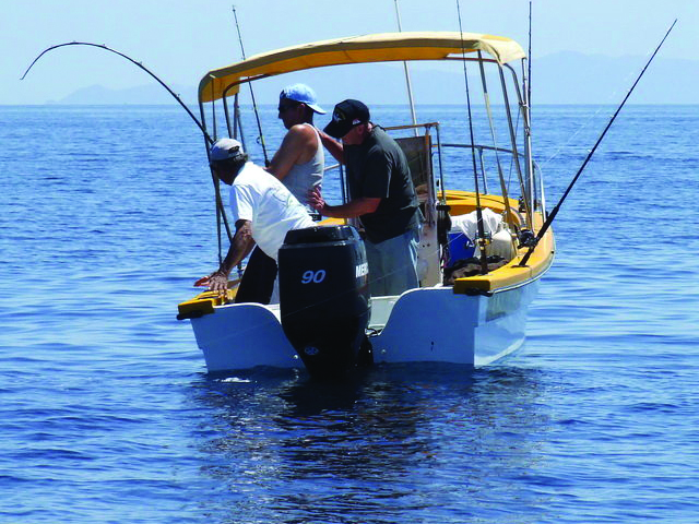 Fishing By Panga in Loreto Photos