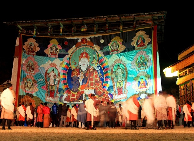 Bhutan Holy Festival Tours Photos