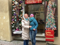 Xmas Shop At The Prague Castle Complex