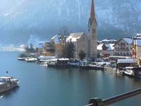 Boat Coming Into Hallstatt, Austria