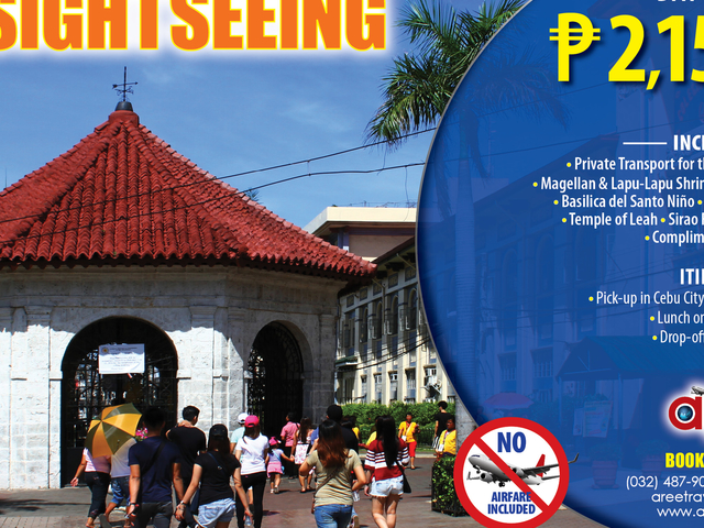 Cebu-Mactan City & Sight Seeing Tour Photos