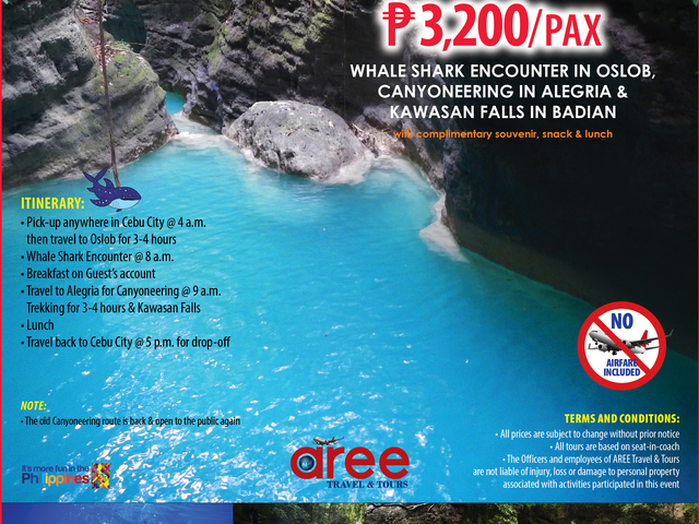 Day Tour Package B P3,200/Pax Photos