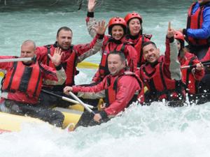 Rafting on Tara and Drina Fotos