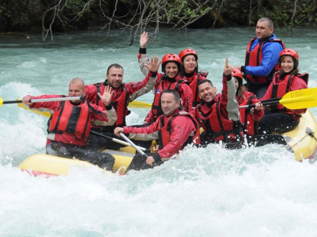 Rafting on Tara and Drina Photos