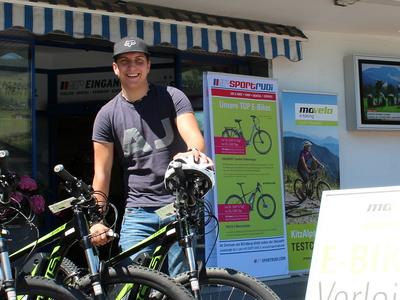 SPORTRUDI E-bike Rental