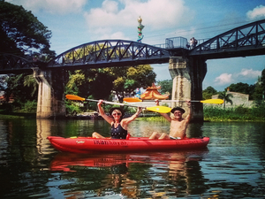 250 km Cycle and Kayak Trip