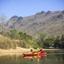 Kayaking On The Kwai Noi River