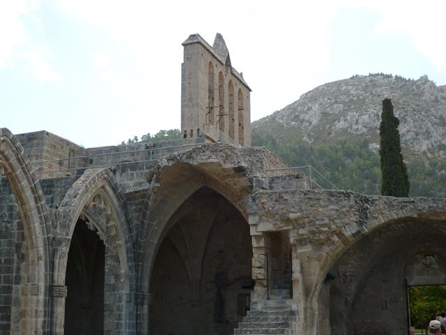 Bellapais Abbey and Boufavento Castle Photos