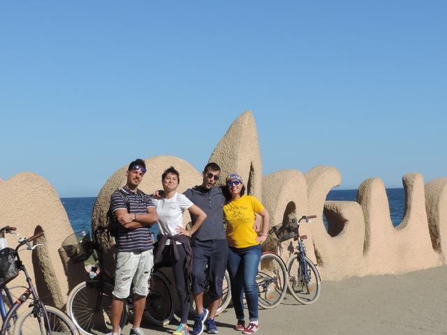 Malaga City Bike Tour Photos