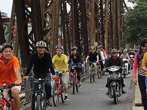 Hanoi Half Day City Biking Photos