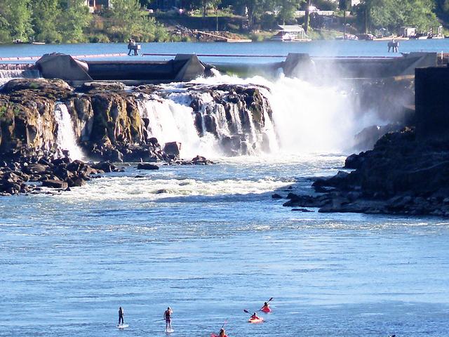 Willamette Falls Tour Photos
