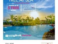 FREE AT SEA PROMO - 7 day Western Mediterranean Cruise