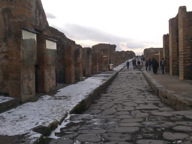 Pompeii Archaeological Site Photos