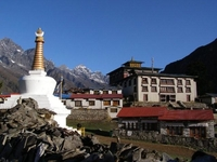 Tengboche Monastery On The Everest Base Camp
