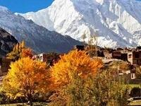 Rakaposhi Peak From Haidar Abad Hunza
