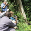 Taking A Close Shot Of A Moutntain Gorilla