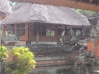 Typical Traditional Balinese House