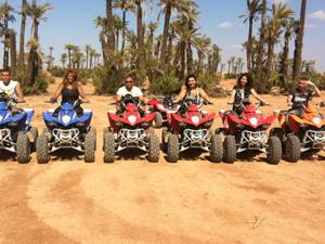 Marrakech Palm Groves Quad Biking Activity Fotos