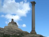 Pompey\'s Pillar, Alexandria