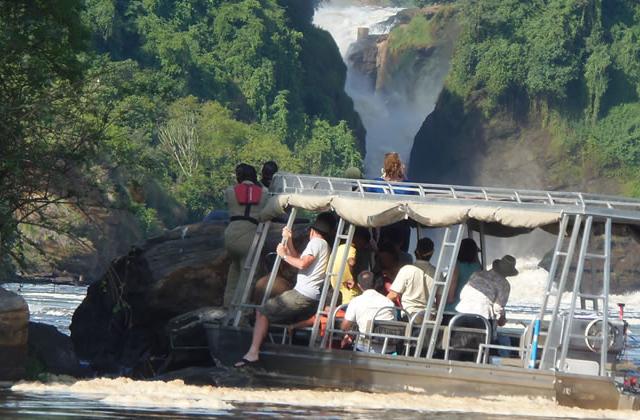 Uganda Fishing Trip - Lake & Rivers, Bottom of the Falls Photos