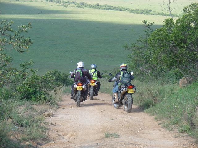 Kenyan Savannah by Bike Photos