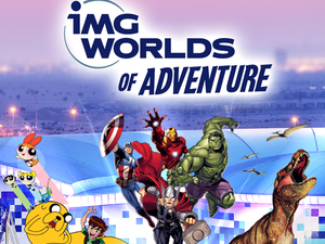 IMG World of Adventure Admission Tickets