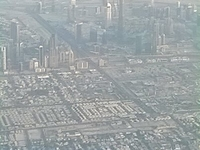 Dubai Flight View