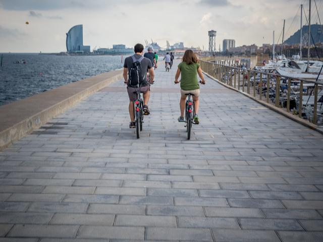Barcelona City Bike Tour Photos