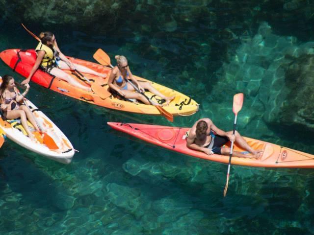 Kayaking and snorkeling on La Costa Brava Photos
