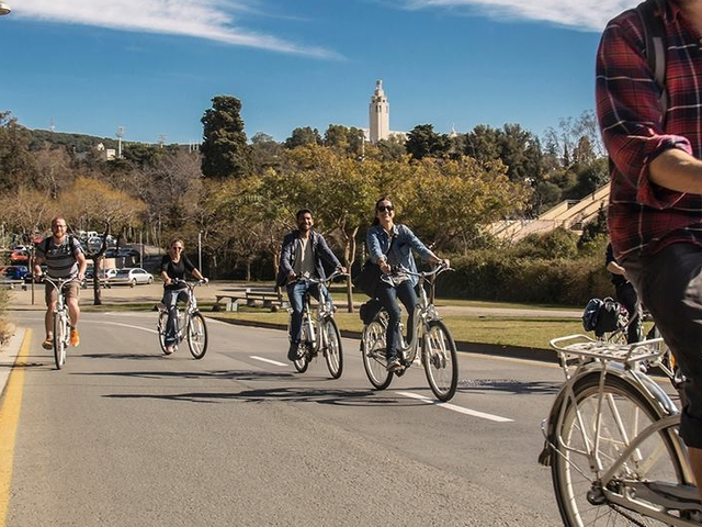 Montjuic E-bike tour Photos