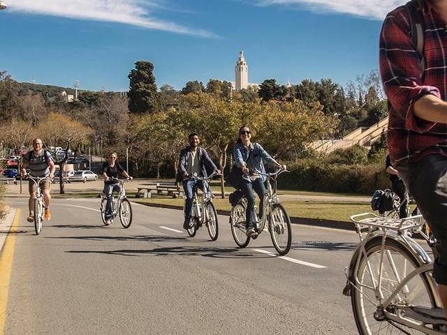 Montjuic E-bike tour Photos