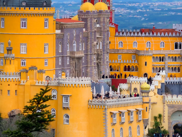 Sintra Palaces, Roca Cape and Cascais Tour Photos