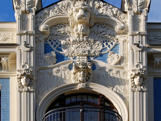 Art Nouveau Walking Tour Photos