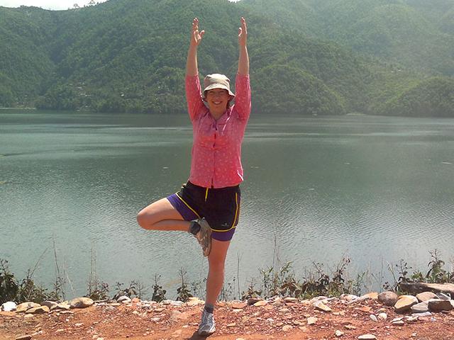 Classical Hatha Yoga in Nepal Photos