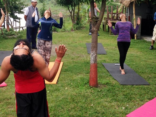 Natural Cleansing and Detox Yoga in Nepal Photos