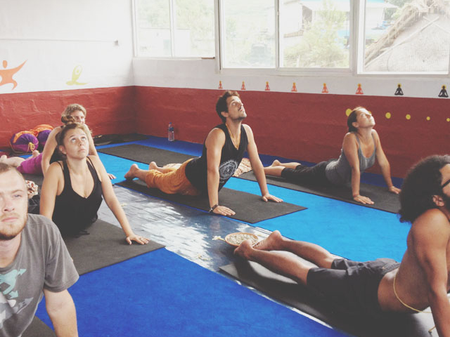 Model Yoga and Meditation Retreat Photos