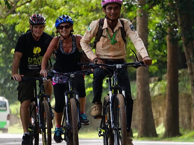 Bike the Angkor Sunrise Photos
