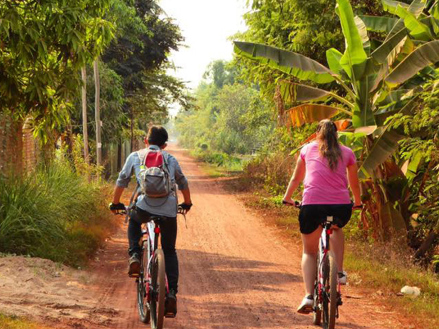 Siem Reap Sunset Cycling Tour Photos