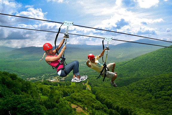 Zipline in Armenia Photos