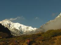 Between Dzongri And Thangsing